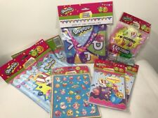 Birthday Party Supply Shopkins Pack Kit Stickers Bags Invites Balloons & Banner