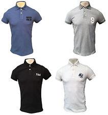 Short Sleeve Cotton Blend No Pattern Y Neck T-Shirts for Men