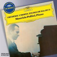 MAURIZIO POLLINI - THE ORIGINALS-CHOPIN: ETUDES OP.10&25 CD NEW! CHOPIN,FREDERIC