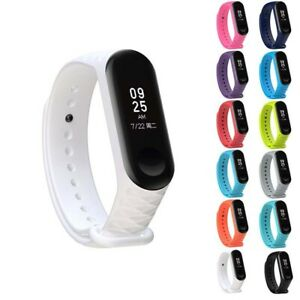 New Original Silicon WristBand Bracelet Wrist Strap for XIAOMI MI Band 3#
