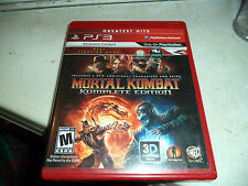 Mortal Kombat: Komplete Edition (Sony Playstation 3 PS3 Greatest Hits) Complete