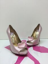 Kate Spade Heart Pink  Heel Womens size 9 B