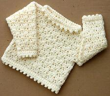 Para Niños Grueso Sweater Crochet Patrón No. 204 diseñado por Kay Jones