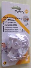 Restbestand-de Baby & Kleinkind Safety 1st 12x Steckdosensicherung mit Schlüssel