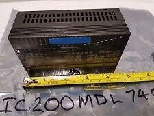 GE Fanuc IC200MDL740B Output Module - 12/24VDC Pos Log Group 0.5A 16pt - New