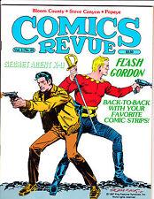 """Comics Revue Vol 1 No 25-1988-Strip Reprints- """"Flash Gordon /Agent X-9 Cover!  """""""