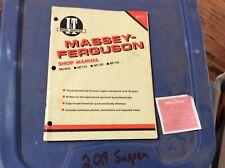 MASSEY FERGUSON TRACTOR MF135 150 165 I&T SHOP REPAIR MANUAL MF27