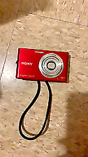 Sony Cyber-shot DSC-H55 14.1MP Digital Camera - Red camera only UNTESTED!!!