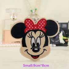 MINNIE MOUSE EMBROIDED PATCH MICKEY PEPPA PIG PAW PATROL DISNEY COT BABY TODDLER