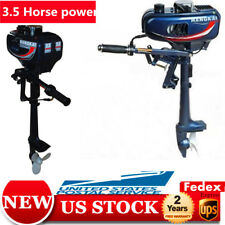 Boat Engine 2-Stroke Outboard Motor CDI system 2.5kw 3.5HP Fishing Boat Engine A