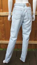 Vintage Levi's 512 High Waist Mom Jeans Women's Sz 13 LONG 30x32 in. USA Made