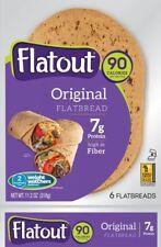 Flatout Light Wraps Original, Low Carb, Low Calories, High Fibre
