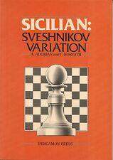 Sicilian : Sveshnikov Variation by T. Horvath and A. Adorjan (1987, Chess Book