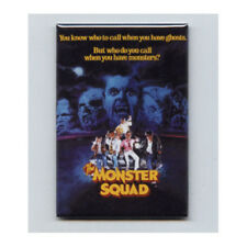 MONSTER SQUAD - FRIDGE MAGNET (movie poster gillman 1987 wolfman got nards)