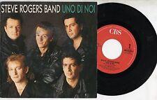 STEVE ROGERS BAND disco 45 giri STAMPA ITALIANA Vasco Rossi UNO DI NOI