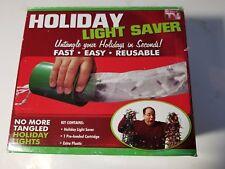 Holiday Light Saver Easy Storage Untangle Christmas Lights New As Seen on Tv