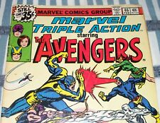 Marvel Triple Action #46 with Avengers vs The X-Men Feb. 1979 in VG- Condition