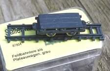 Lanz Feldbahnlore als Plateauwagen   - von Saller 1:87