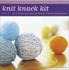 NEW Knit Knack Kit 25 Terrific Knitting Projects by Kris Percival
