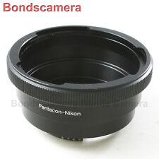 AF Confirm Pentacon 6 Kiev 60 Lens to Nikon F Mount Adapter D4 D750 D3200 D5200