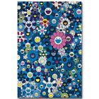 Takashi Murakami Japanese Pop Art Silk Poster 13x20 24x36 inch Trippy 004
