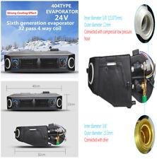 24V Car Truck Air Conditioner AC Underdash Evaporator w/ 3 Speed Blower Switch