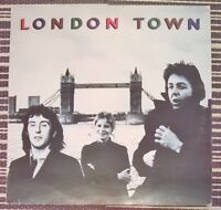 Wings London Town  Vinyl LP Album 33rpm 1978 PAS 10012 Classic Rock