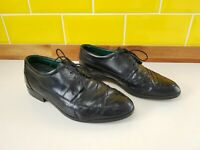 Clarks Mens Smart Formal Quality Leather Lace Up Overlap Design Shoes Size 9