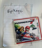 Mario Kart 7 exclusively for Nintendo 3DS! Brand New and Free Shipping!