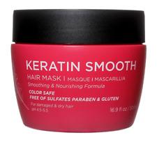 Luseta Keratin Smooth Hair Mask 16.9 oz for Damaged & Dry Hair