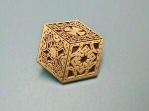 Lament Configuration Box pin badge - Hellraiser, Pinhead, Cenobite, Puzzle Cube