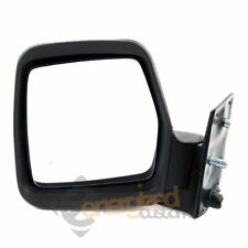 Fiat Scudo Van 1995-2006 Manual Adjust Black Wing Door Mirror Passenger Side N/S