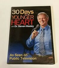 30 Days to a Younger Heart with Dr. Steven Masley FACTORY NEW DVD! BEST PRICE!!