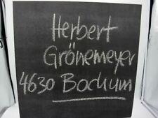 Vinyl Schallplatte Album LP Herbert Grönemeyer 4630 Bochum