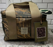New! $155 Filson x Mossy Oak Camo Soft Sided Lunch Box Beer Cooler. Made In USA