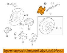 VOLVO OEM 07-16 S80 Brake-Rear Pads 30671575