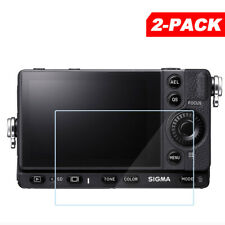 2x Tempered Glass Screen Protector for Sigma fp Digital Camera