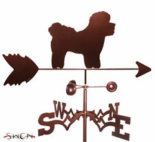 SWEN Products BICHON DOG Steel Weathervane