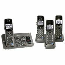 Panasonic KX-TGE674B DECT 6.0 Expandable Cordless Phone - 4 Handset