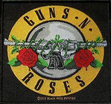 "Guns N 'ROSES ricamate/Patch # 30 ""Logo"" - 10x10xm"