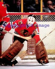Tony Esposito  Blackhawks 1969-84  HOF'er  Color  8x10 K