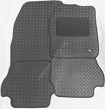 MITSUBISHI LANCER SPORTBACK 08+ BLACK TAILORED HEAVY DUTY RUBBER CAR FLOOR MATS