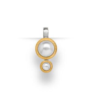 Bastian Inverun Kettenanhänger 23261 925/- Sterlingsilber teilvergoldet Perle