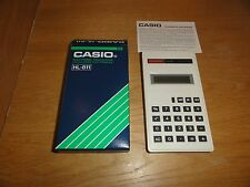Vintage (1980's) Boxed Casio HL-811 Electronic Calculator (COLLECTORS CONDITION)
