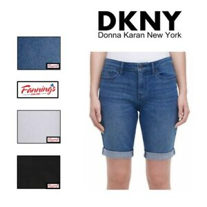 SALE! DKNY Jeans Ladies' Mid Rise Bermuda Short | VARIETY SIZE/COLOR | F32
