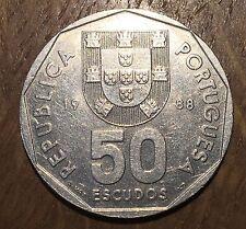 PIECE DE 50 ESCUDOS 1988 DU PORTUGAL (167)