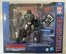 NEW Transformer War for Cybertron COVERT AGENT RAVAGE Decepticon forever G1 SDCC