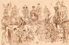 27 Portraits Photomontage Delaporte Family Studio 1890