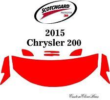 3M Scotchgard Paint Protection Film Clear Bra Pre-Cut Kit 2015 2016 Chrysler 200