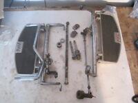 77-79 Yamaha XS750 XS 750 triple A driver floorboard peg shift brake system